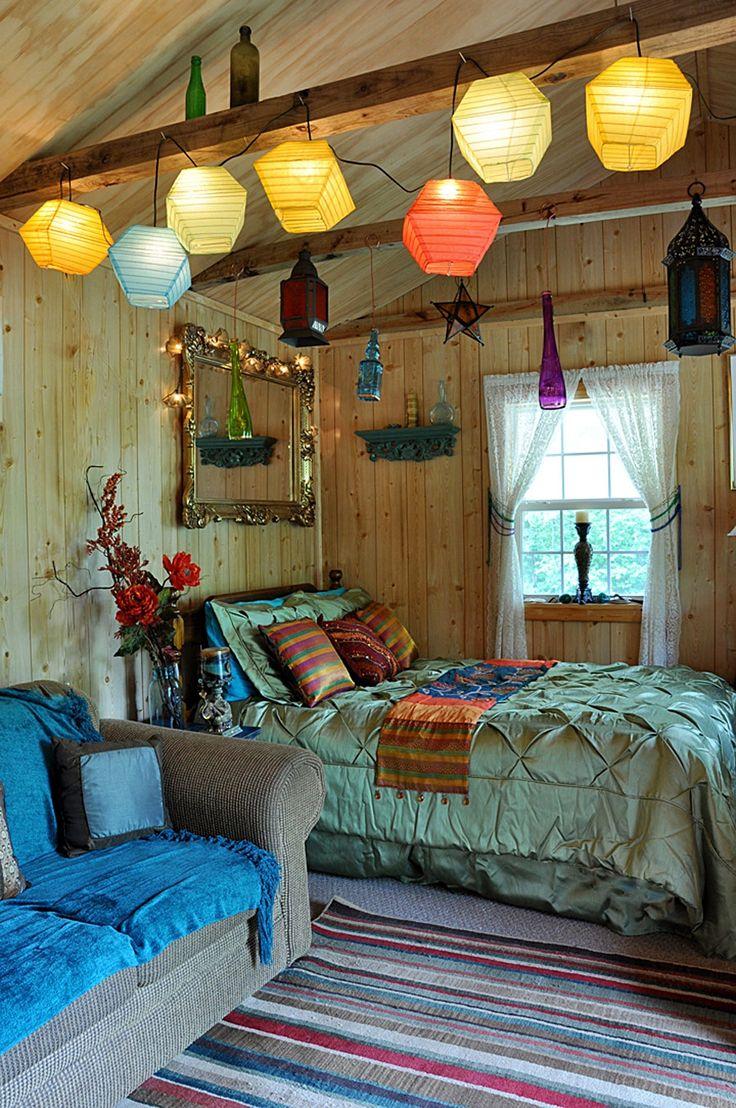 Baños Estilo Bohemio:Cómo decorar un dormitorio con estilo bohemio (3/20)