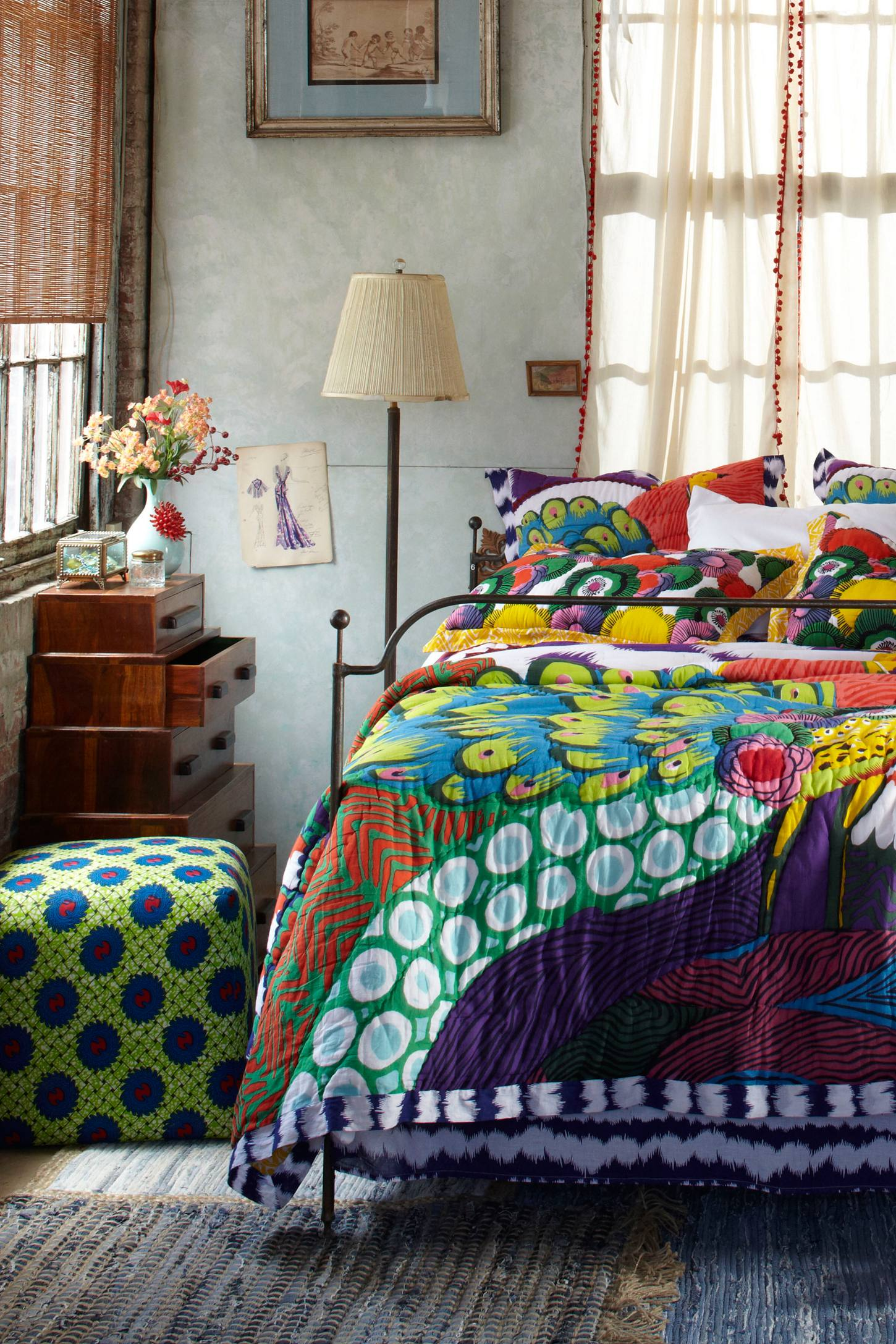 Baños Estilo Bohemio:Cómo decorar un dormitorio con estilo bohemio (4/20)
