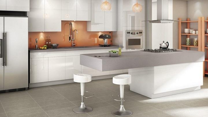 C mo crear una zona para comer en la cocina - Taburetes para barra de cocina ...