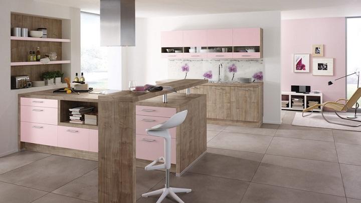 cocina rosa foto1