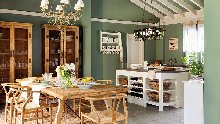 Colores para pintar un comedor colores para pintar un for Combinacion de colores para sala comedor