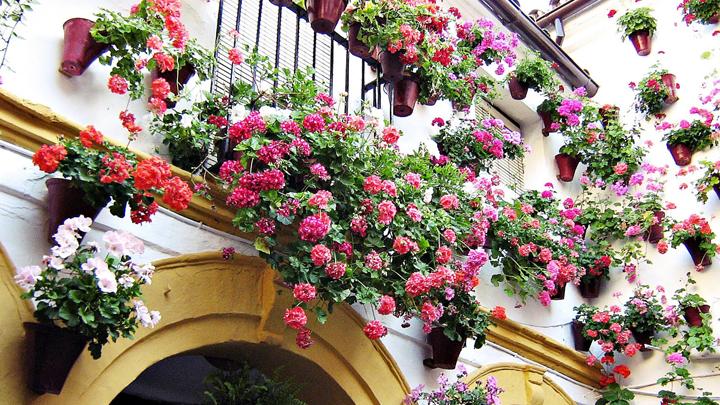 Decorablog revista de decoraci n - Azulejos patio andaluz ...