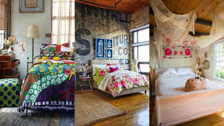 decoracion dormitorio estilo bohemio