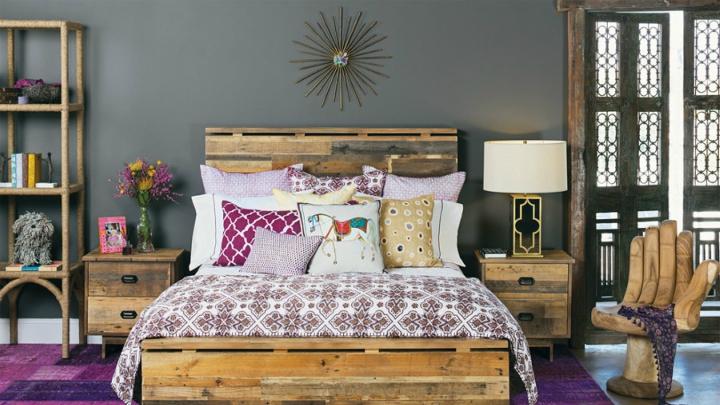 Baños Estilo Bohemio:decoracion dormitorio estilo bohemio2