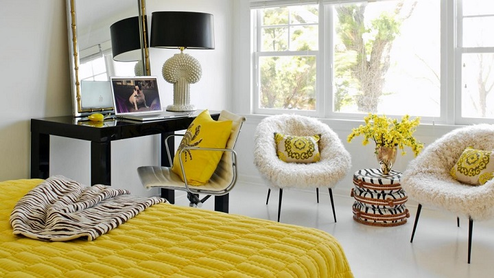 dormitorio amarillo foto3