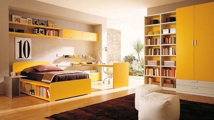 dormitorio amarillo foto4