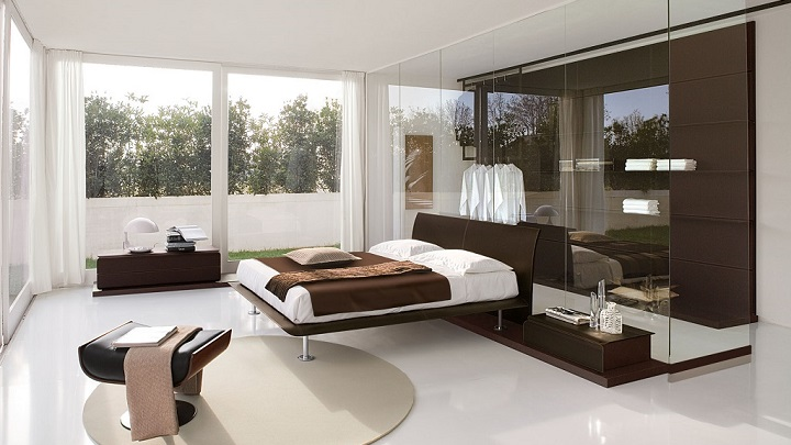 dormitorio marron foto1