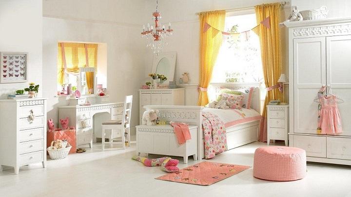 habitacion infantil blanca foto1