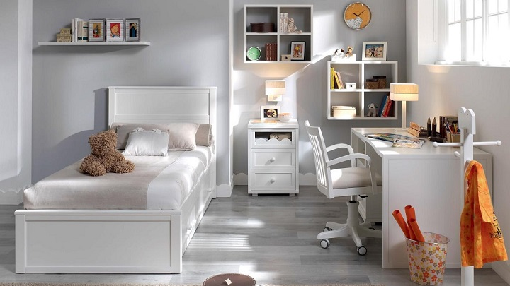 habitacion infantil blanca foto2