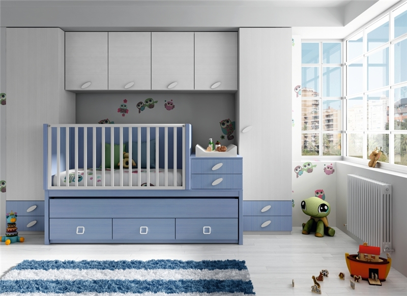 Habitacion infantil blanca20 - Fotos habitaciones ninos ...