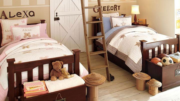 Ideas para decorar una habitaci n infantil compartida - Habitacion infantil compartida ...