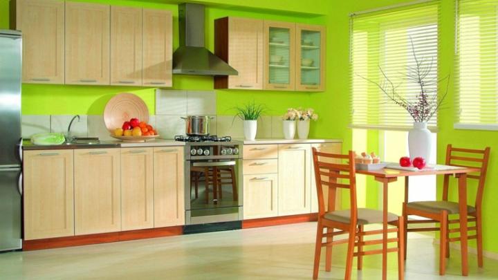 Ideas para pintar las paredes en colores vivos - Cocinas con colores vivos ...