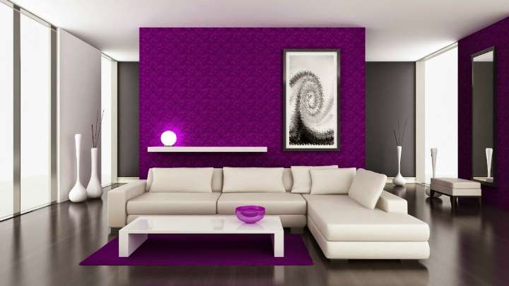 Ideas para pintar las paredes en colores vivos for Colores pintura pared 2016