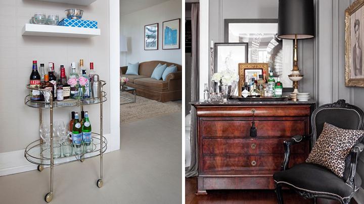 Ideas para crear y decorar un bar en casa - Como decorar un bar pequeno ...