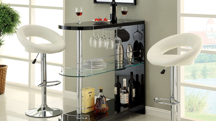 Ideas para crear y decorar un bar en casa for Muebles para bares pequenos