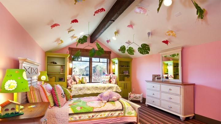 techo dormitorio infantil