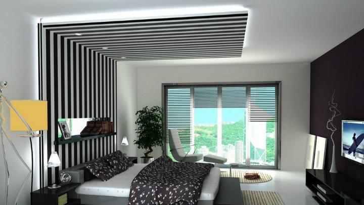 Decorablog revista de decoraci n for Techos de drywall para dormitorios