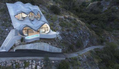 Casa acantilado exterior