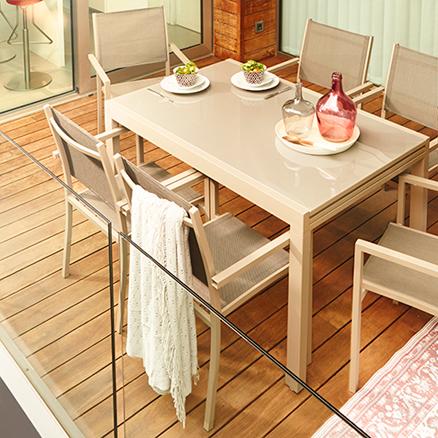 Conjuntos de comedor30 for Muebles de terraza leroy merlin