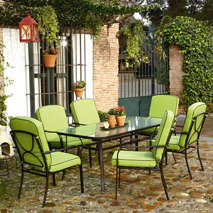Conjuntos de comedor52 for Muebles de terraza leroy merlin
