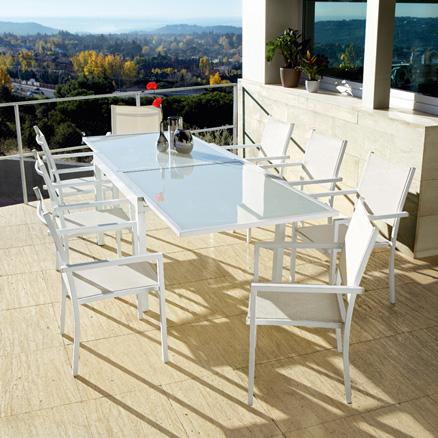 Conjuntos de comedor68 for Muebles de terraza leroy merlin
