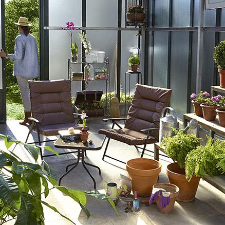 Conjuntos de muebles con mesa baja28 - Muebles de salon leroy merlin ...