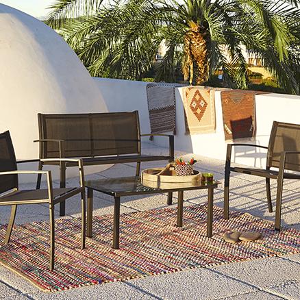 Conjuntos de muebles con mesa baja29 for Leroy muebles jardin