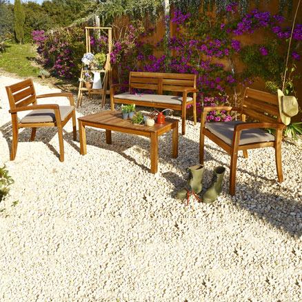 Conjuntos de muebles con mesa baja31 - Conjuntos de jardin leroy merlin ...
