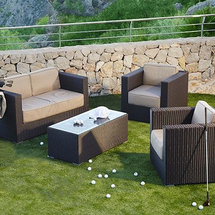 Conjuntos de muebles con mesa baja44 for Conjuntos de jardin leroy merlin