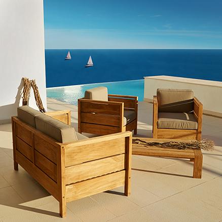 Conjuntos de muebles con mesa baja47 for Conjuntos de jardin leroy merlin