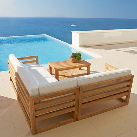 Conjuntos de muebles con mesa baja48 - Muebles de salon leroy merlin ...