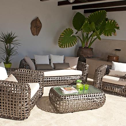 Conjuntos de muebles con mesa baja5 - Leroy merlin muebles de salon ...