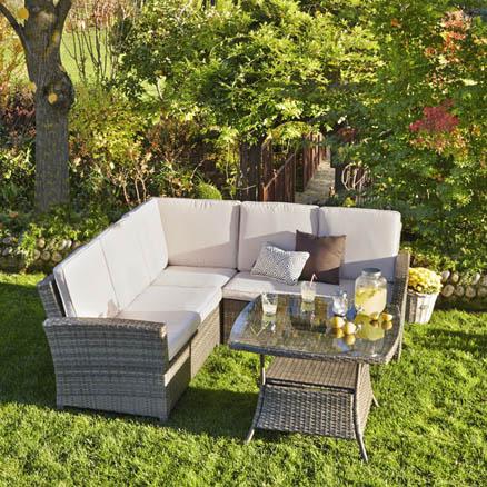 Conjuntos de muebles con mesa baja69 for Leroy muebles jardin