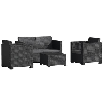 Conjuntos de muebles con mesa baja90 - Muebles resina leroy merlin ...