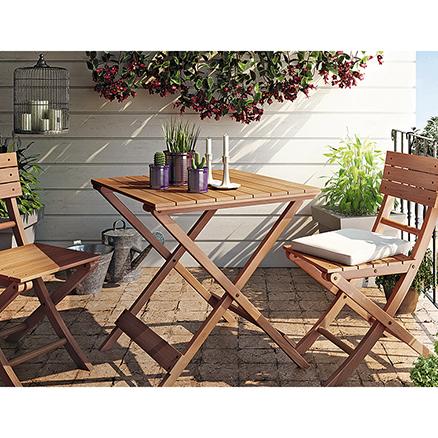 Conjuntos de muebles para balcon1 for Muebles de terraza leroy merlin