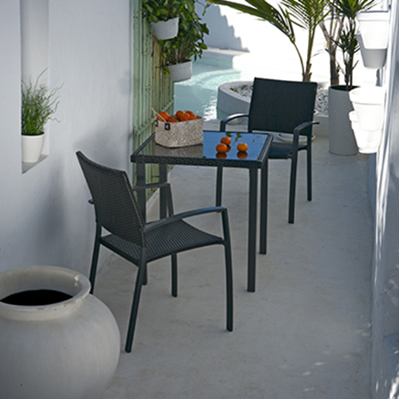 Conjuntos de muebles para balcon15 for Muebles de resina leroy merlin
