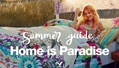 Home is Paradise Desigual