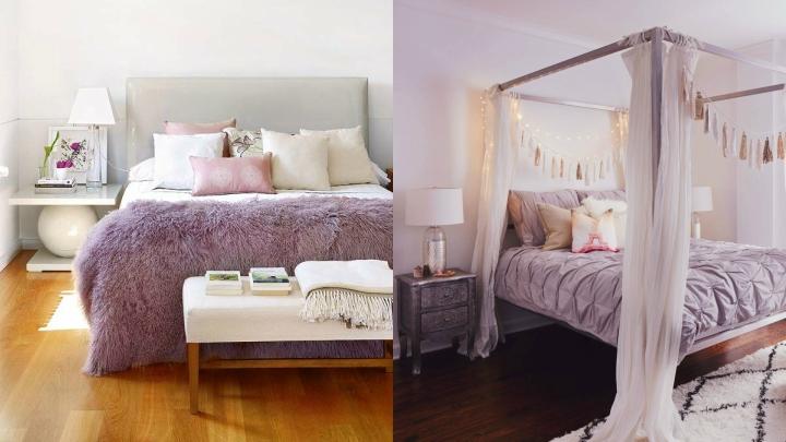 Lilac Gray dormitorio