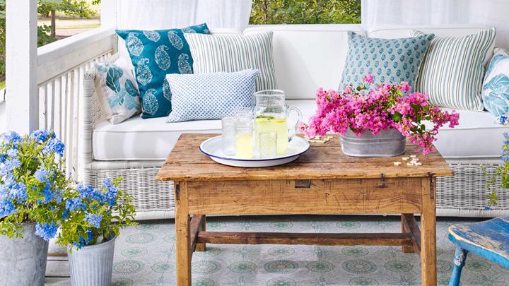 Terrazas archives decorablog decoraci n muebles e for Decorar porche pequeno