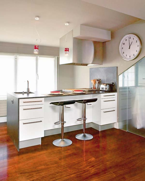 Cocina barra americana1 - Barra americana cocina ...
