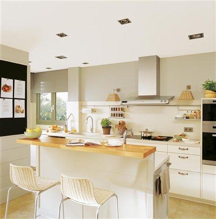Cocina barra americana13 for Barra americana cocina pequena