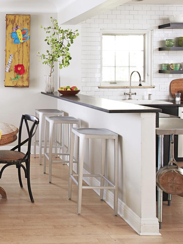 Cocina barra americana16 - Barras americanas para cocinas pequenas ...