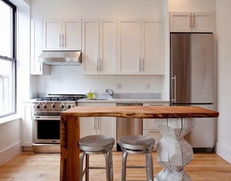 Barras de cocina sencillas: barras e islas para la cocina. modelos ...