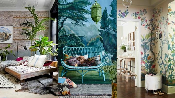 decoracion estilo tropical