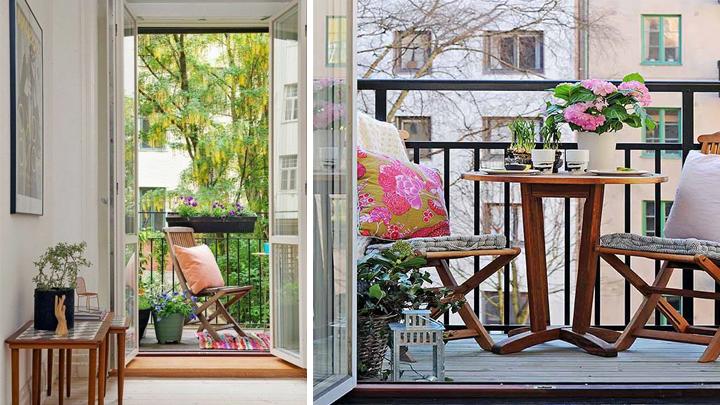 decorar balcones peque os