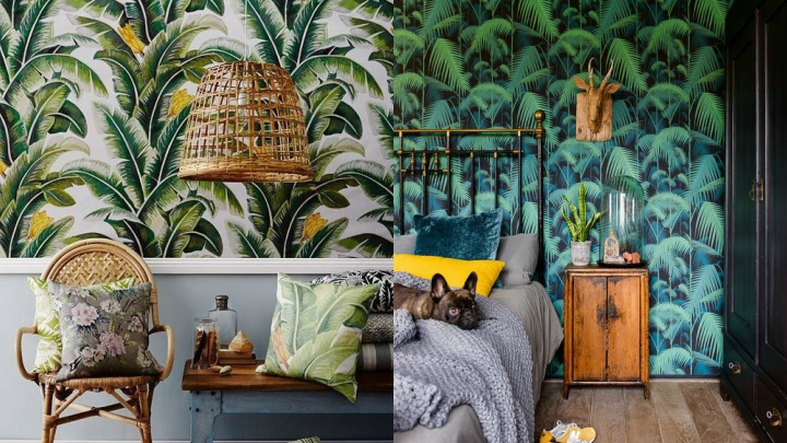 estilo tropical paredes