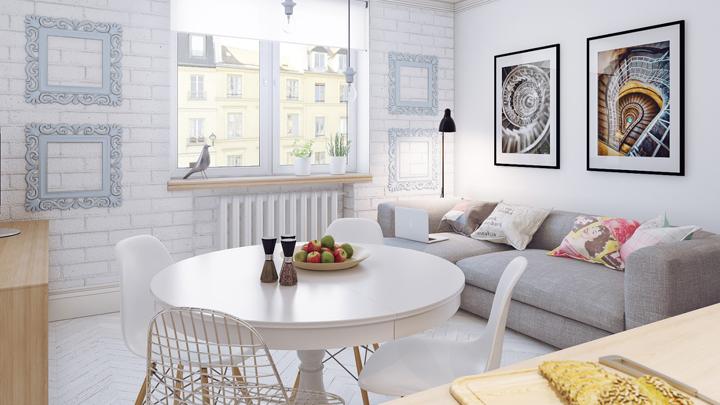 Los mejores muebles para pisos mini - Muebles para pisos pequenos ...