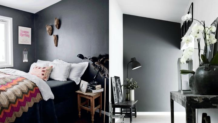 negro paredes