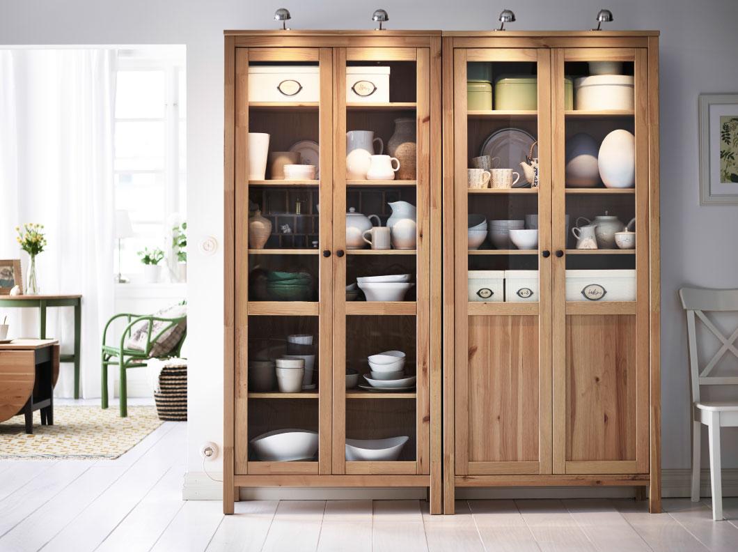 Bonito Ikea Cama Cocina De Almacenamiento Del Armario Colección ...