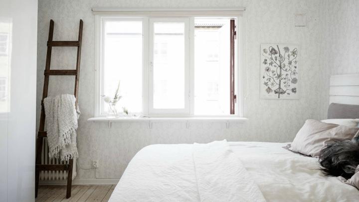 Apartamento Gotemburgo dormitorio